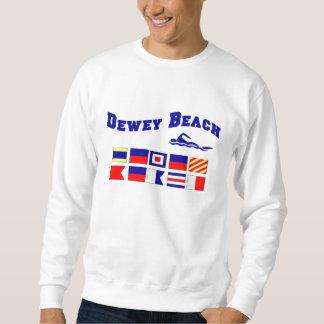 Playa de Dewey Sudaderas Encapuchadas
