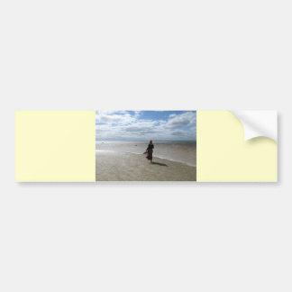 Playa de Dunsborough Etiqueta De Parachoque