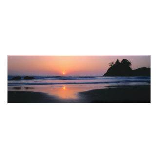 Playa de estado de Trinidad, California. LOS E.E.U Cojinete