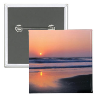 Playa de estado de Trinidad, California. LOS E.E.U Pin Cuadrado