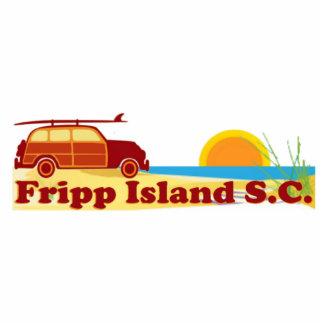 Playa de Fripp Esculturas Fotográficas
