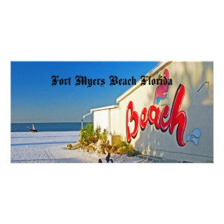 Playa de fuerte Myers Tarjeta Personal