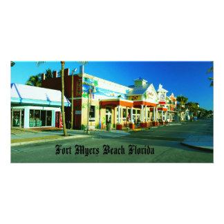 Playa de fuerte Myers Tarjetas Personales Con Fotos