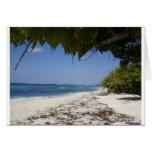 Playa de Gran Caimán Tarjetas