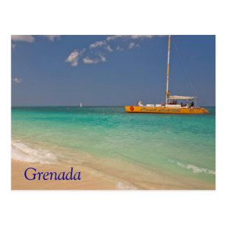 Playa de Grenada Tarjeta Postal