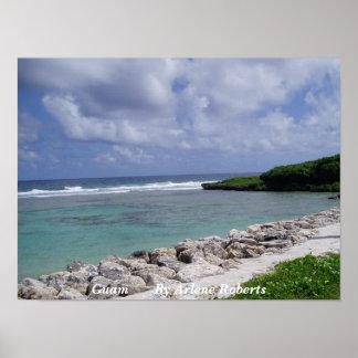 Playa de Guam Impresiones