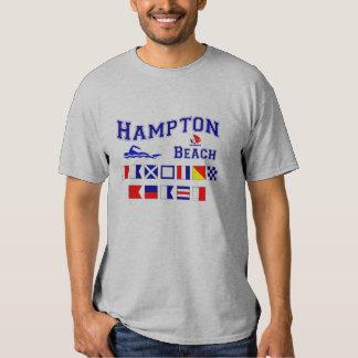 Playa de Hampton, NH Remeras