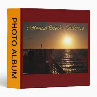 "Playa de Hermosa, CA Carpeta 1 1/2"""