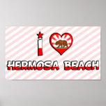 Playa de Hermosa, CA Poster