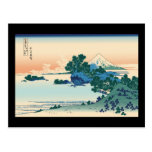 Playa de Hokusai Shichiri en la provincia de Sagam Postales