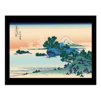 Playa de Hokusai Shichiri en la provincia de Tarjetas Postales