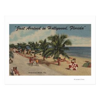 Playa de Hollywood la Florida - vista de la playa Postales