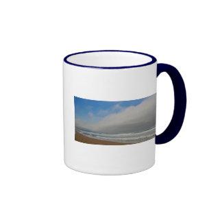 Playa de Horsfall, Oregon Taza De Dos Colores