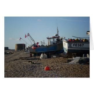 Playa de Hythe y las gamas Tarjetón