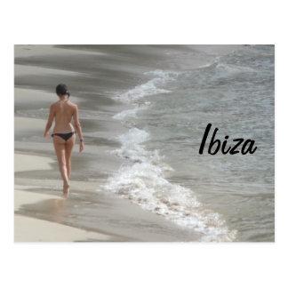 Playa de Ibiza Tarjeta Postal
