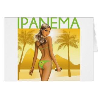 Playa de Ipanema Felicitacion