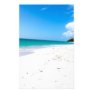 Playa de Isla Saona en el Caribe Papelería