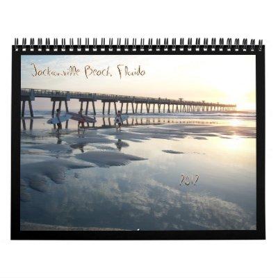Playa de Jacksonville, la Florida Calendario