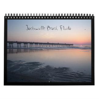Playa de Jacksonville, la Florida - calendario de