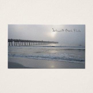 Playa de Jacksonville, la Florida: Tarjeta de Tarjetas De Visita