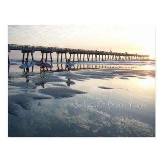 Playa de Jacksonville, la Florida Postales