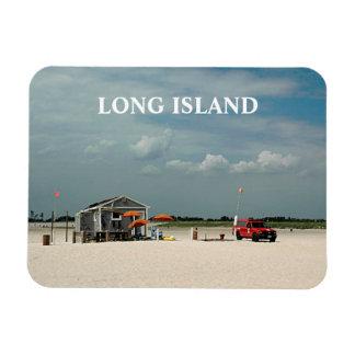 Playa de Jones, Long Island, Nueva York Imán Rectangular