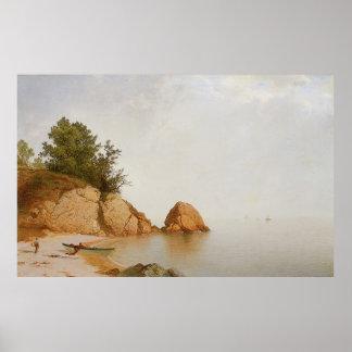 Playa de Juan Frederick Kensett en Beverly Posters