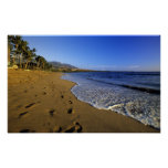 Playa de Kaanapali, Maui, Hawaii, los E.E.U.U. Poster