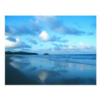 Playa de Karon, isla de Phuket Tarjeta Postal