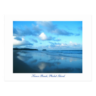 Playa de Karon, isla de Phuket Postal