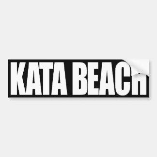 Playa de KATA Pegatina Para Auto