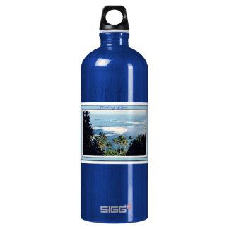 Playa de Ke'e de Botella-Kauai del agua