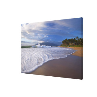 Playa de Kihei, Maui, Hawaii, los E.E.U.U. Impresion De Lienzo