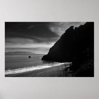 Playa de Kirby - un pequeño pedazo de cielo Póster