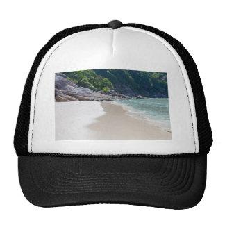 Playa de la arena de Similan y mar blancos de las Gorros