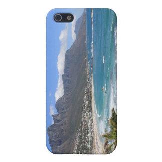 Playa de la bahía de los campos, Suráfrica iPhone 5 Funda