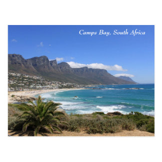 Playa de la bahía de los campos, Suráfrica Postal