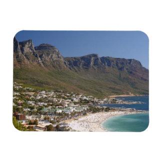 Playa de la bahía de los campos y doce apóstoles imanes flexibles