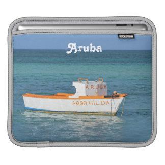 Playa de la choza del pescador funda para iPads