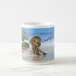 Playa de la colección de la empanada de Cutie de Taza