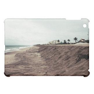 Playa de la Florida al sur vacía antes de vintage