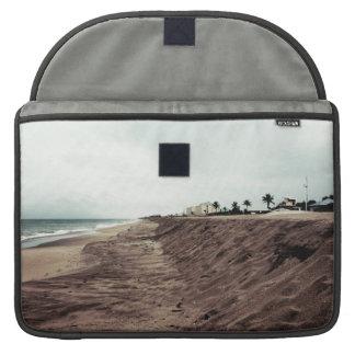 Playa de la Florida al sur vacía antes de vintage Funda Macbook Pro
