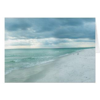 Playa de la Florida Tarjeta De Felicitación