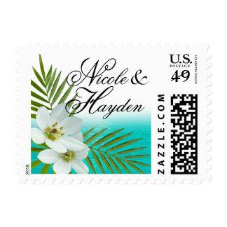 Playa de la hawaiana sellos