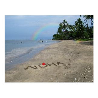 Playa de la hawaiana postales