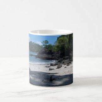 Playa de la iguana taza de café