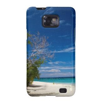 Playa de la isla de mar del sur, Fiji Galaxy S2 Carcasas