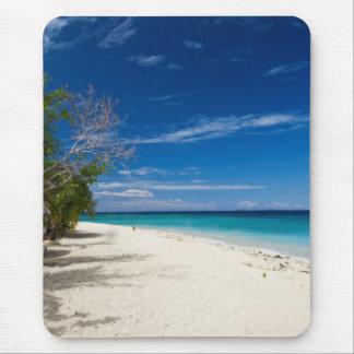 Playa de la isla de mar del sur, Fiji Alfombrilla De Ratón