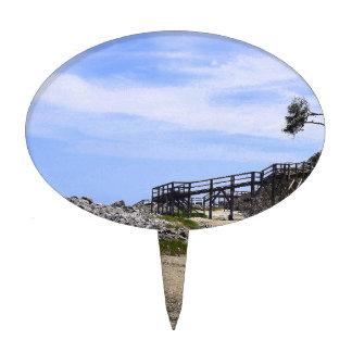 Playa de la isla de Sapelo Decoraciones Para Tartas