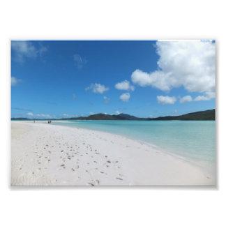 Playa de la isla arte fotografico